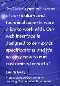 EdGates project team of curriculum and technical experts....