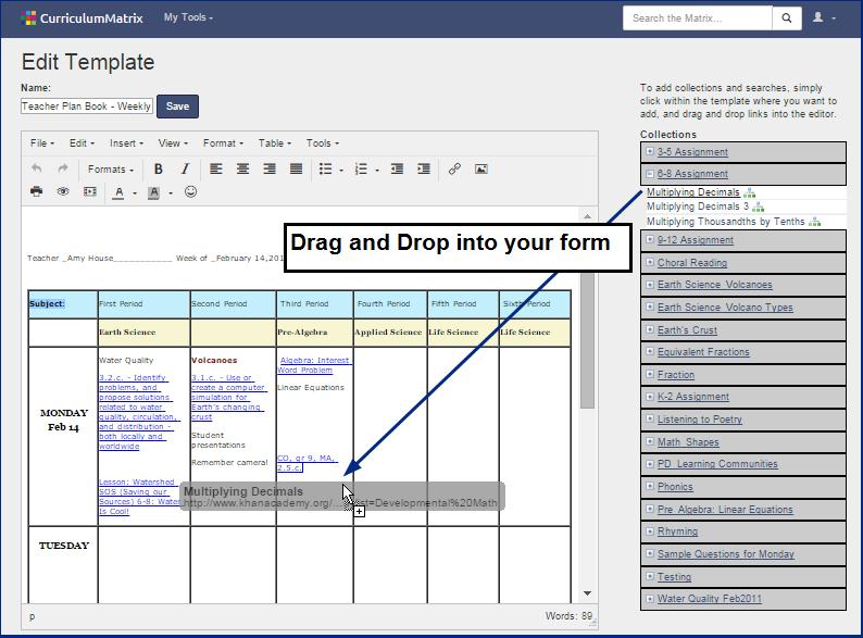 Curriculum Matrix User Guide   EdGate Correlation Services
